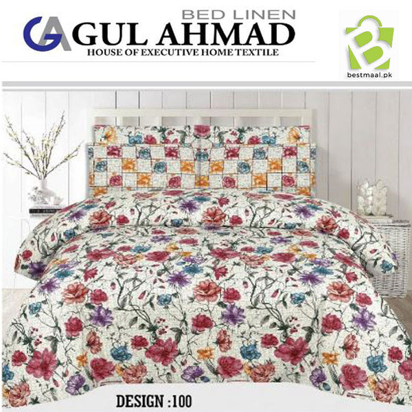 Gul Ahmed Bedsheet King Size | 007