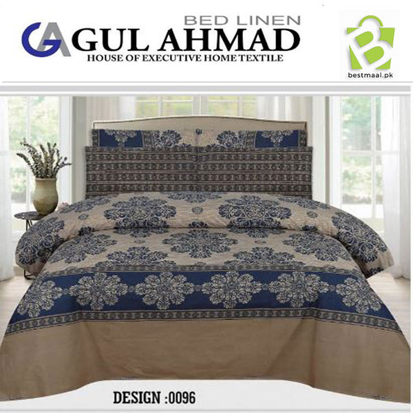 Gul Ahmed Bedsheet King Size | 008
