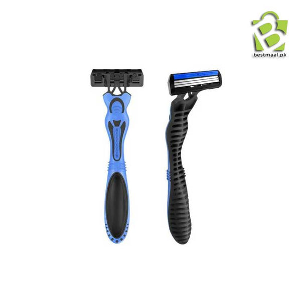 Super Comfort Razor for Men with 3 Cartridges 3 Blade Razors