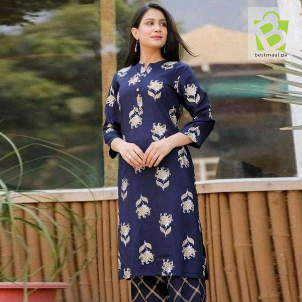 Ethnic Lawn Dress 2Pc | D-130