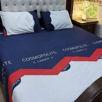 3 Pc Pure Cotton Bedsheet | D-26