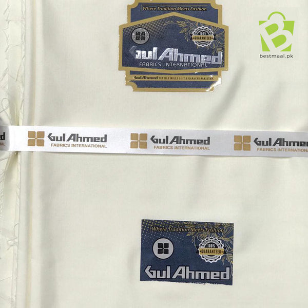Gul Ahmed Men Suit | Wash n Wear | 15 Colors