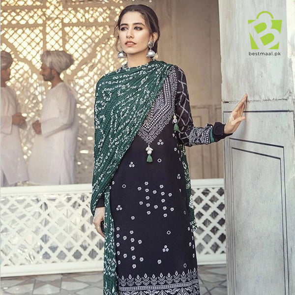 Cross Stitch Lawn Suit | 3 Pc | D-10