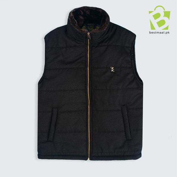 Billionaire Buckle Sleeveless Jacket - Dark Green - BestMaal