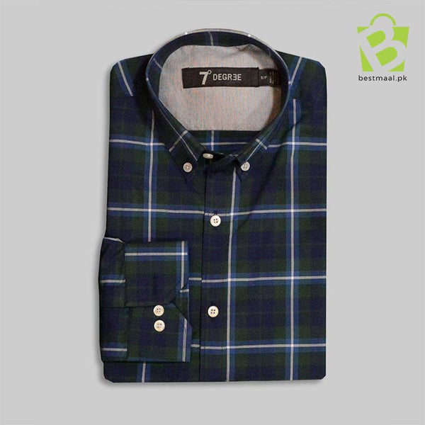 Exclusive Green and Blue Checkered Shirt - BestMaal