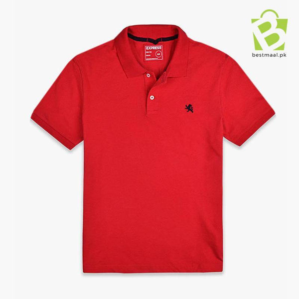 Express Classic Slim Fit Polo - Red - BestMaal
