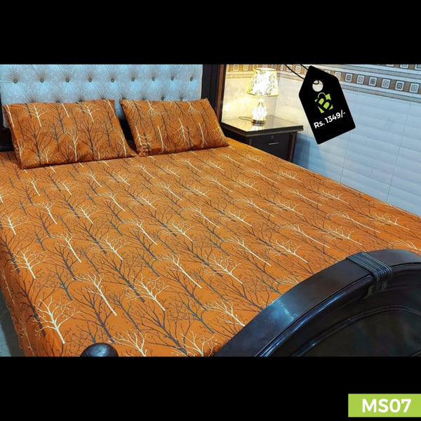 Export Quality Bed Sheet | King Size | 3pc