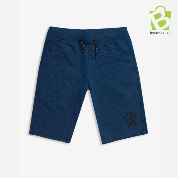 Giordano G-Shorts Embroidered Logo - Blue Shade - BestMaal
