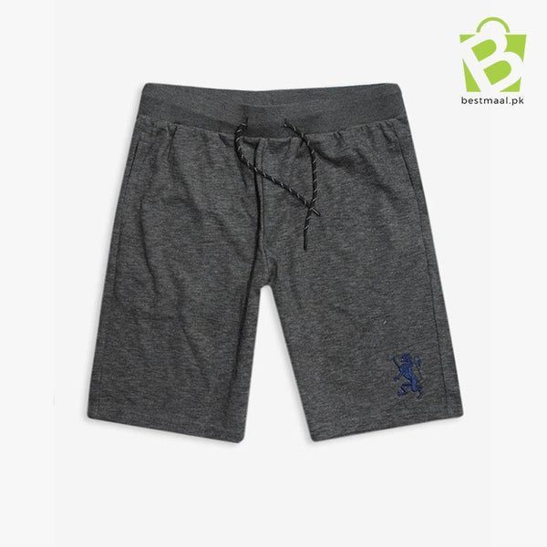 Giordano G-Shorts Embroidered Logo - Grey Shade - BestMaal