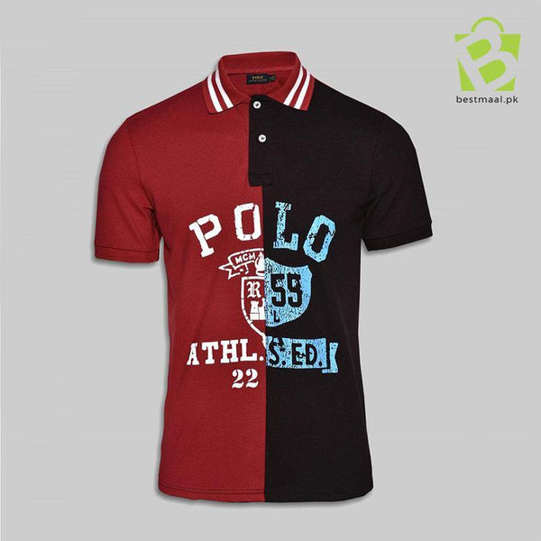 Multi Color Polo Sign Shirt - M & B - BestMaal