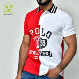 Multi Color Polo Sign Shirt - R & W - BestMaal