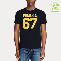 Polo RL 67 T Shirt - Black - BestMaal