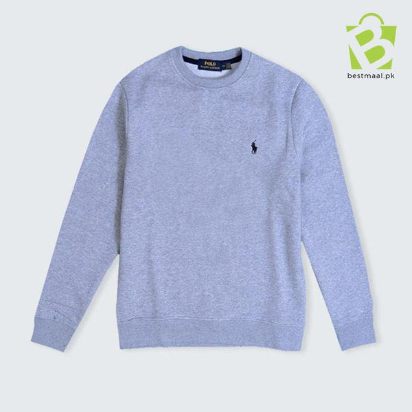 Premium Lite Fleece Pony Sweatshirt - Gray - BestMaal