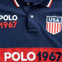 Slim Fit Mesh Polo Design Polo 1967 - USA - BestMaal