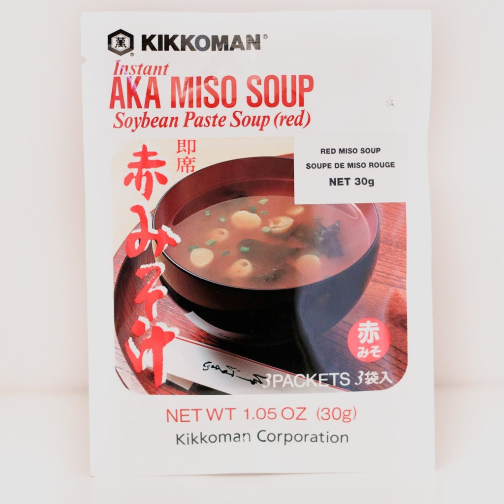 Kikkoman Miso Soup Red 30G