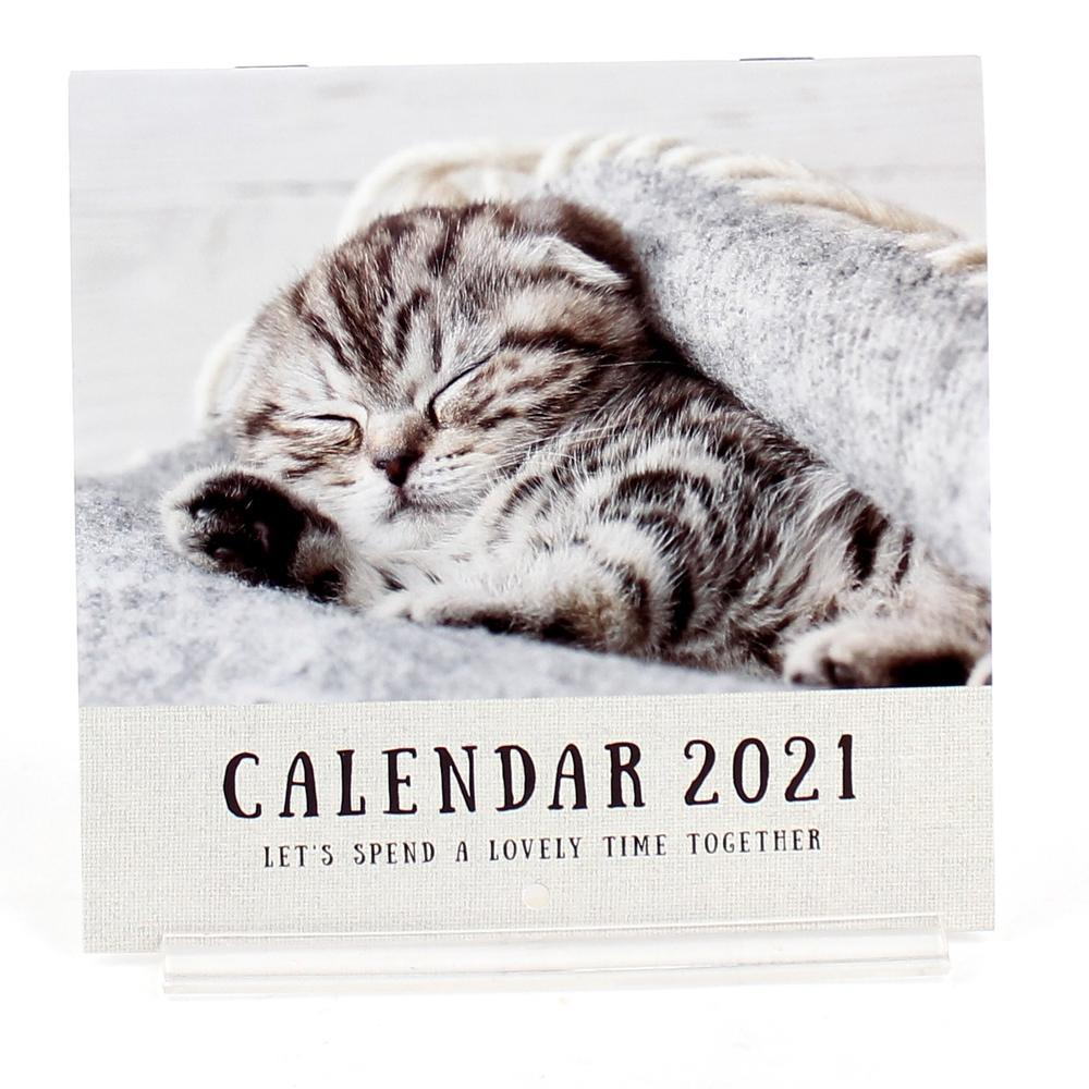 2021 Calendar (Paper/Mini/Cat/14x27cm)