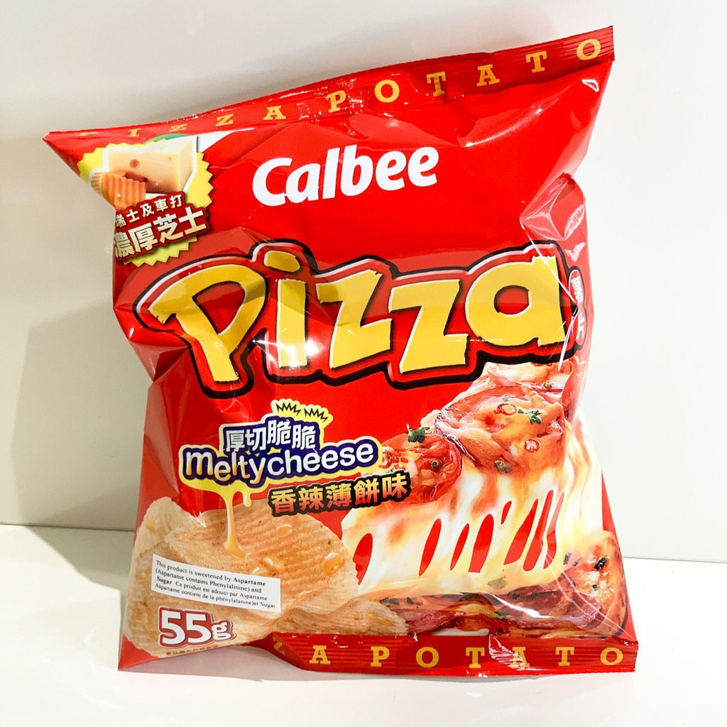 Calbee Hot Pizza Potato Chip 55G