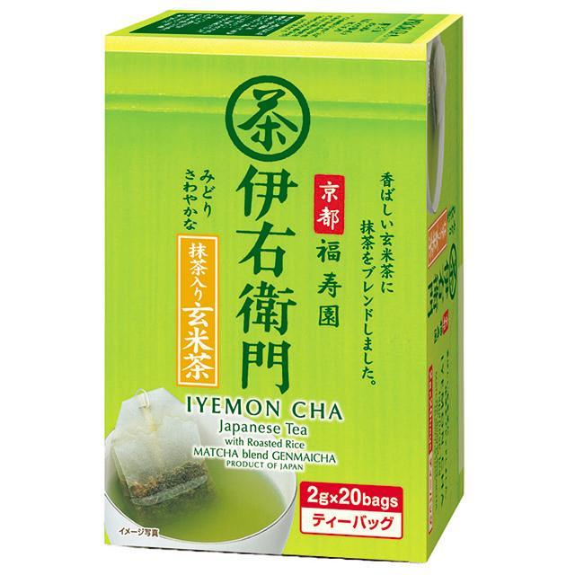 Iyemon Green Tea Bag 20pcs 40g