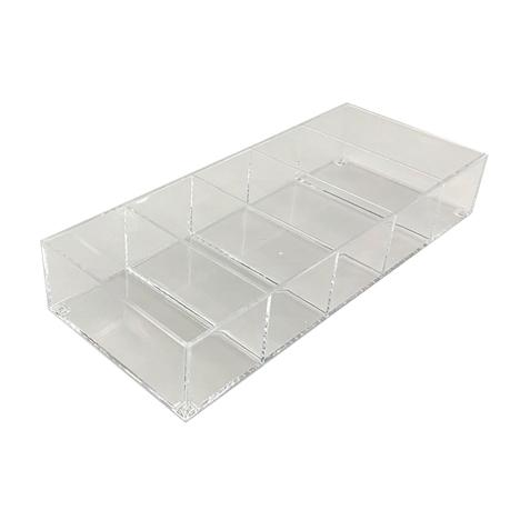 Storage Tray (5-Partition/Clear/6.8x3.2cm)