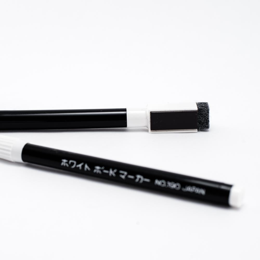 White Board Marker (w/Eraser/Black)