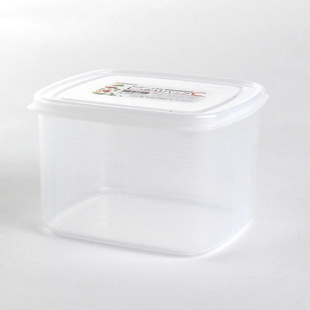 Plastic Food Container (Microwavable/Round/CL/14.2x12.6x9.3cm / 1.2L)
