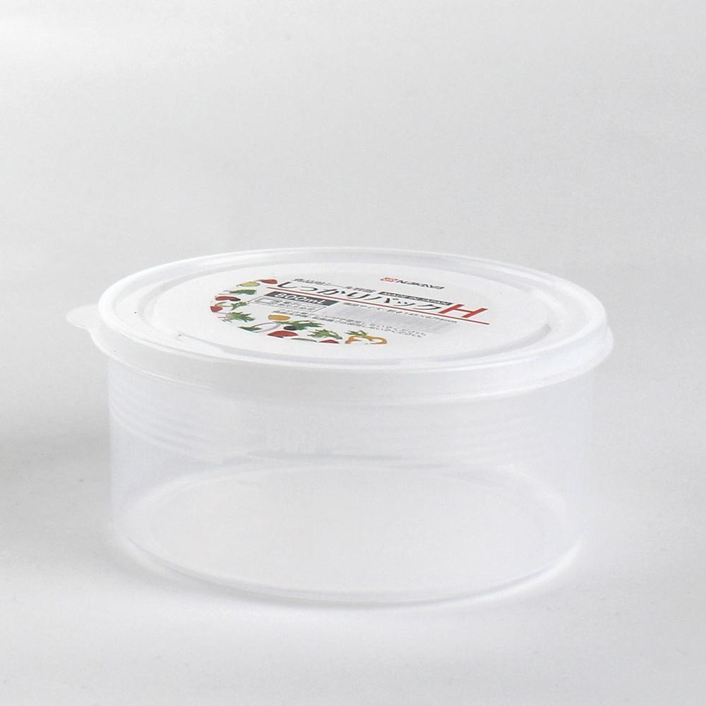 Plastic Container - 800mL (PP/Cylinder/CL/d.14.5x6.7cm / 800mL)