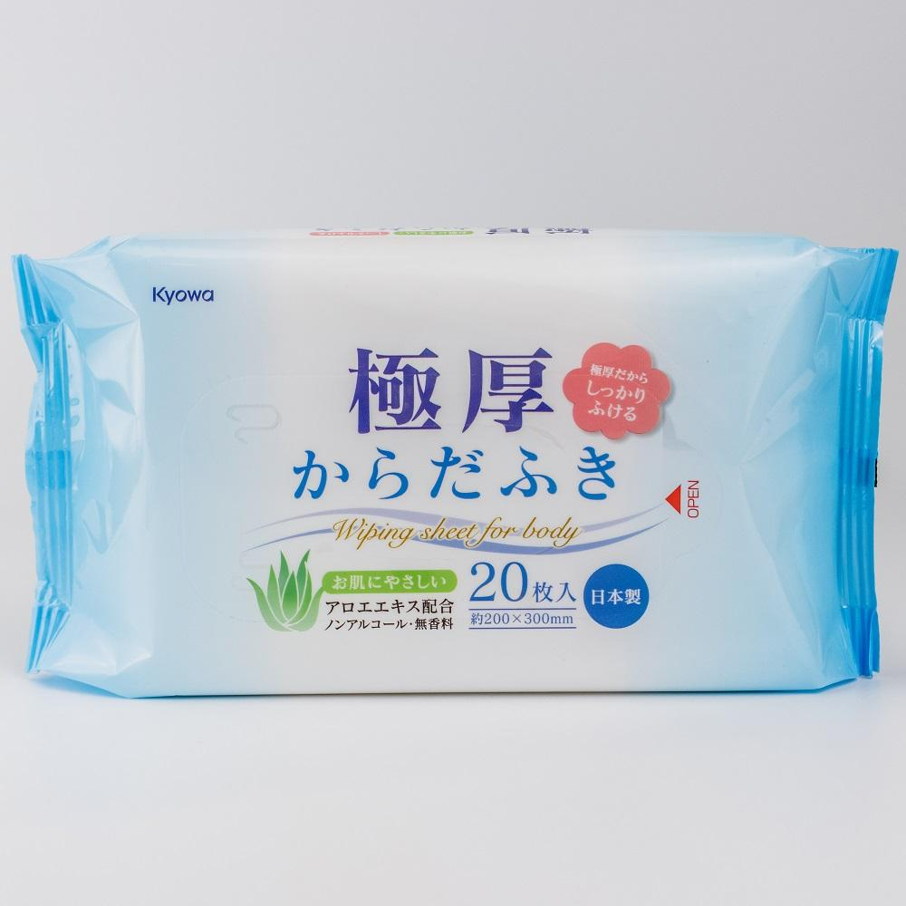 Body Wipes (Thick/20x30cm (20 Sheets))