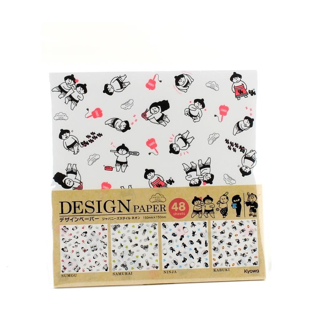 Design Paper (Sumo Wrestler/48 Sheets)