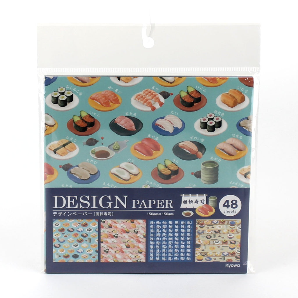Design Papers (Paper/Sushi/15x15cm (48 Sheets))