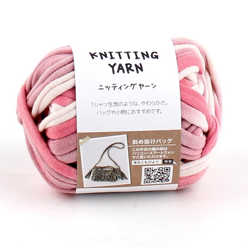 Knitting Yarn (T-Shirt/WT/PK/25g)