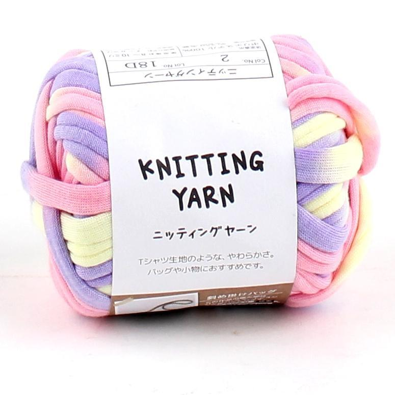 Knitting Yarn (T-Shirt/PR/PK/YL/25g)