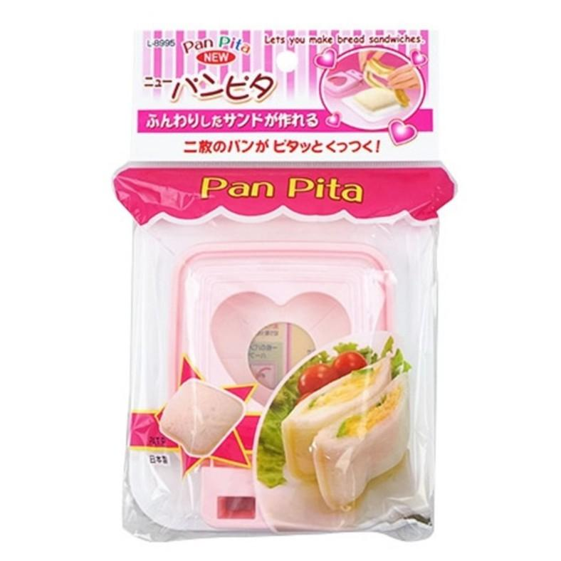 Pocket Sandwich Cutter (PP/Heart/Pink)
