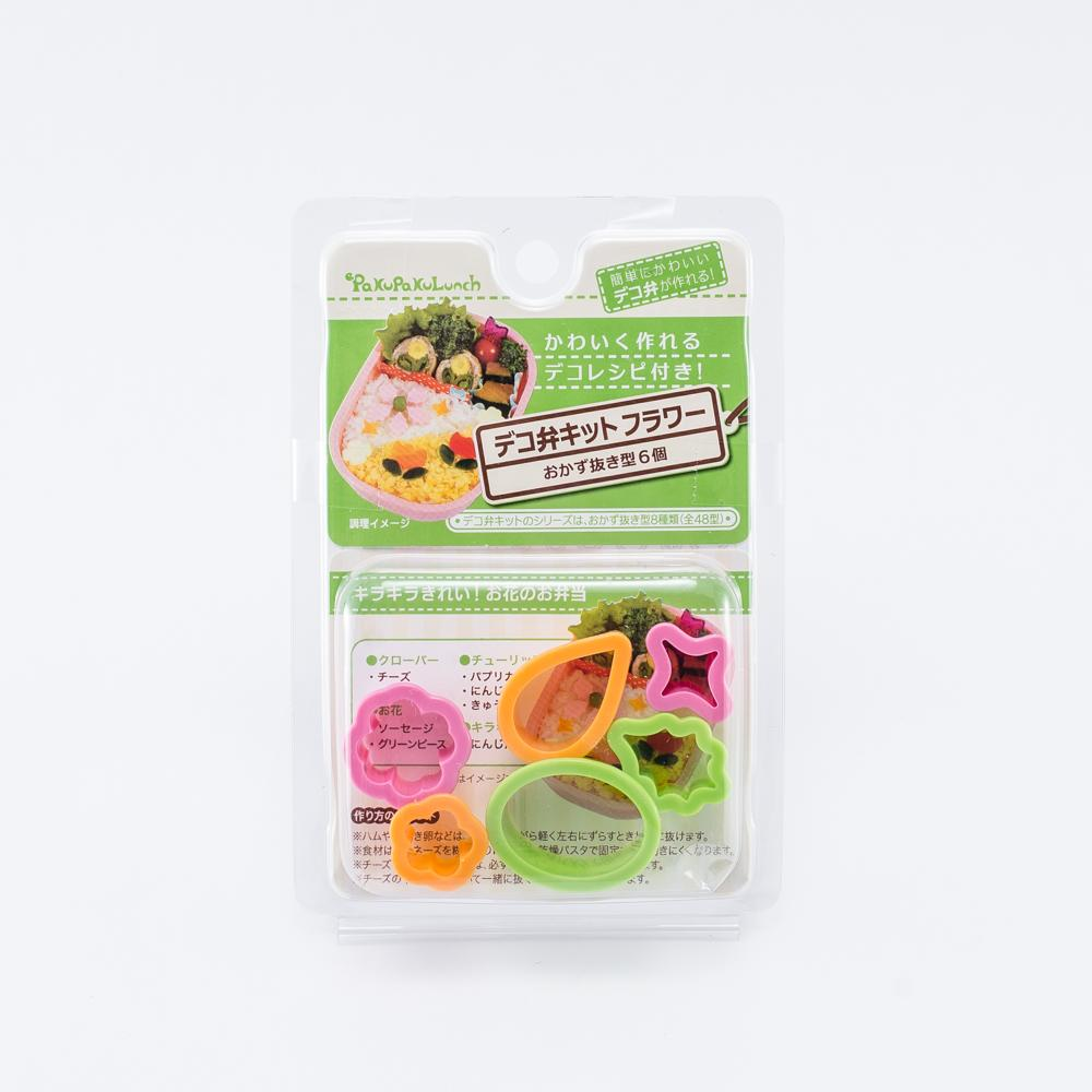 Food Molds (Flowers/3xColors/6pcs)