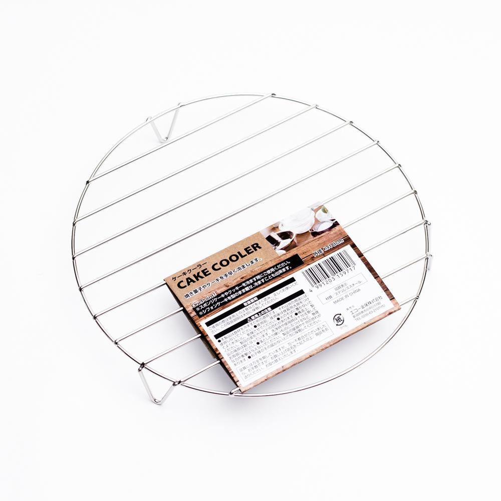 Cooling Rack (Round/Silver/Diameter 18cm)