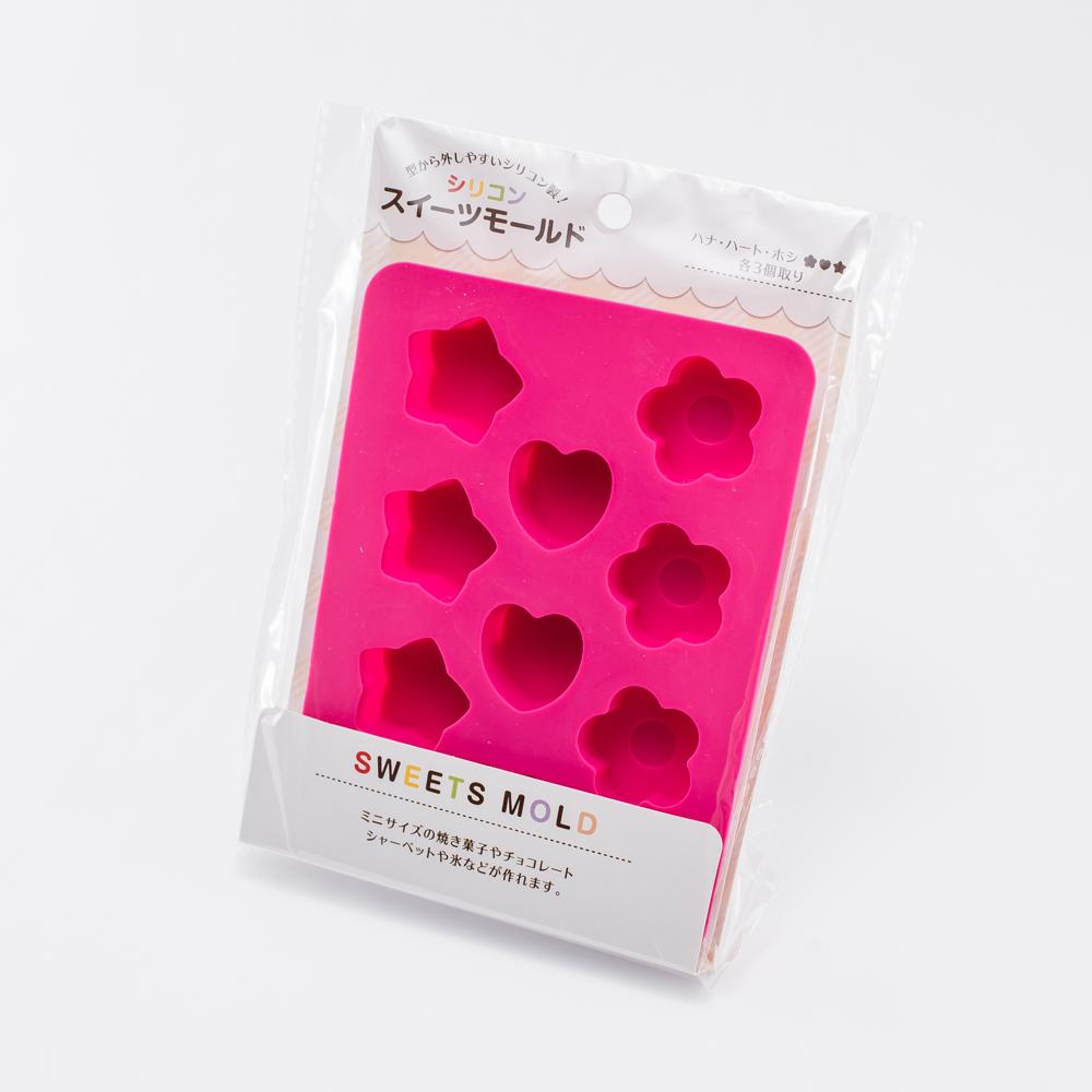 Chocolate Mold (Silicone/Flower/Heart/Star)