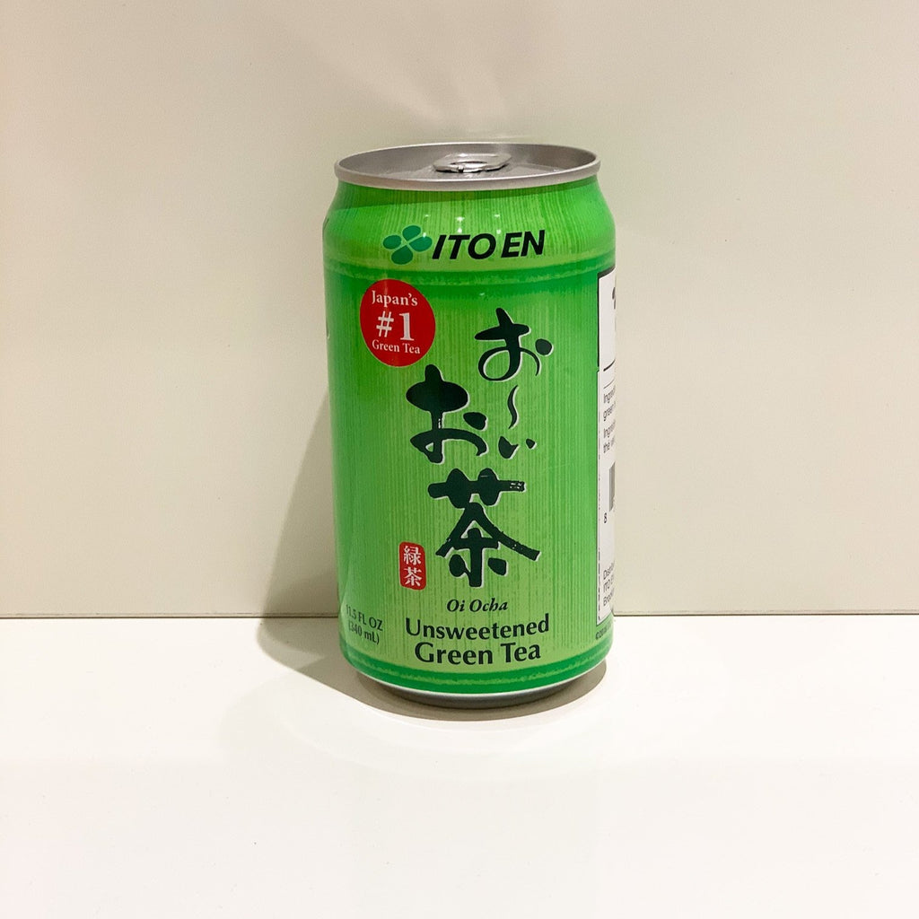 Itoen Oi Ocha Green Tea Unsweetened Can