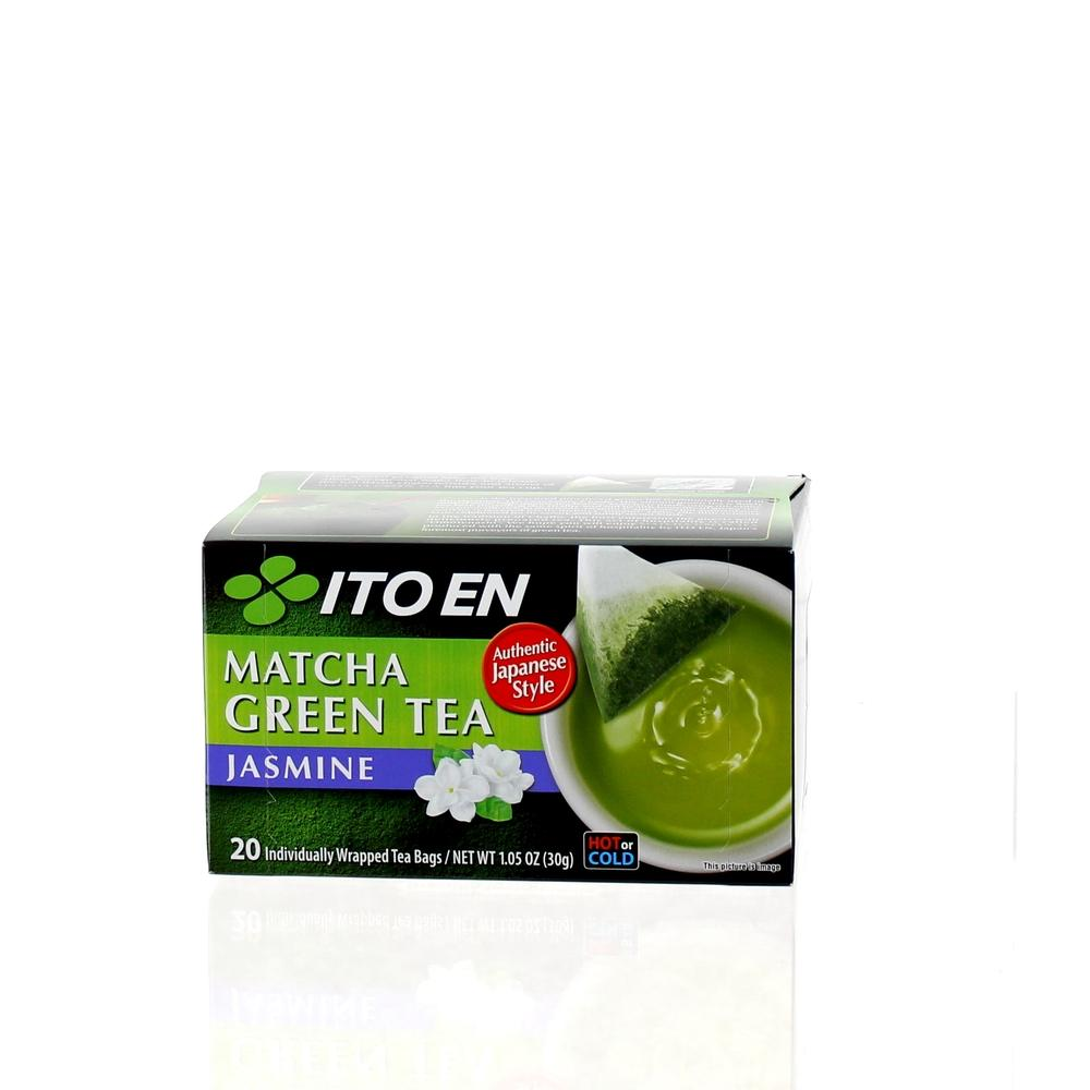 TEA BAG MATCHA GREEN TEA JASMINE 20PC