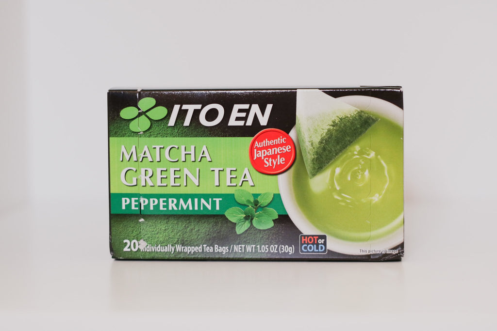 Tea Bag Matcha Green Tea Peppermint 20Pc