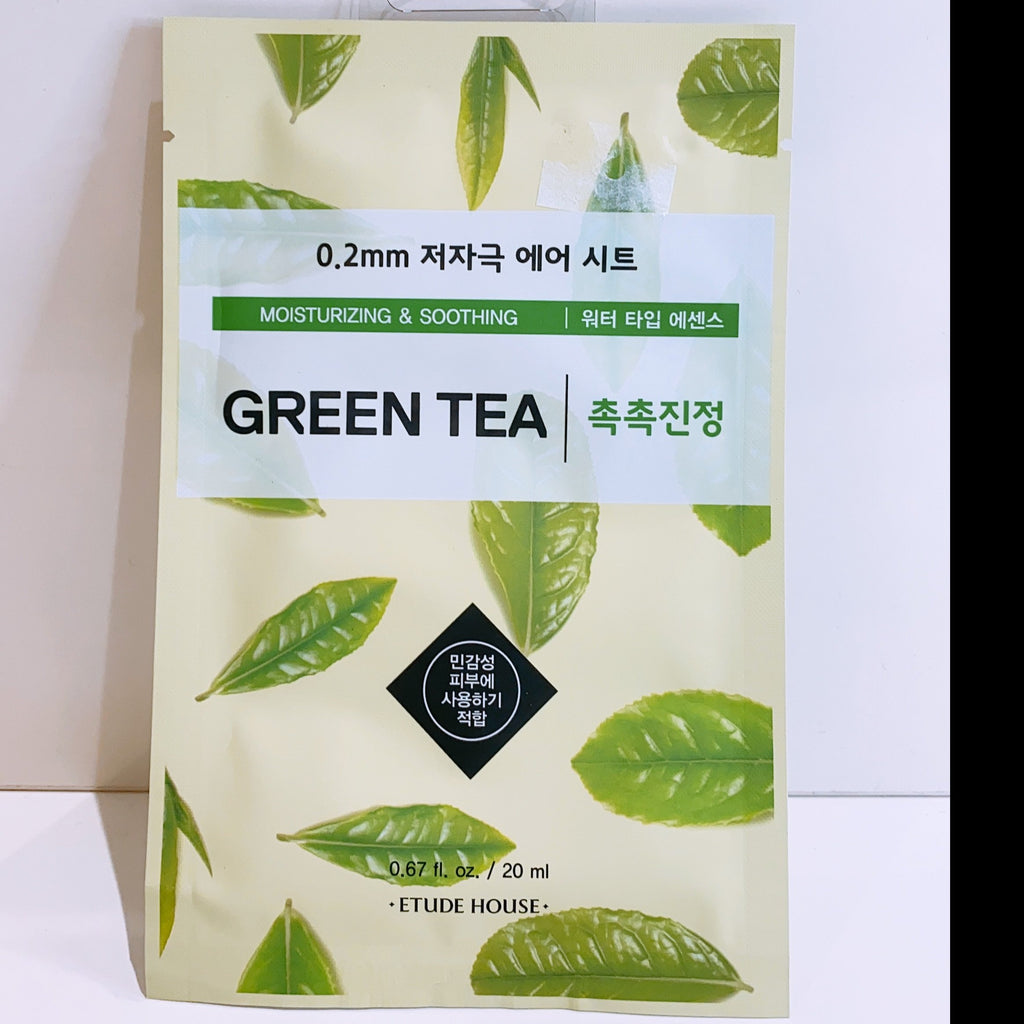 Etude House 0.2 Therapy Air Mask- Green Tea
