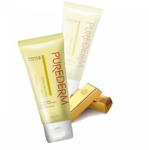 PUREDERM-Gold Peel Off Mask (Tube/100g)