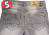 Men's Denim Jeans - Gray - Faded - Da Smart Store