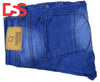 Men's Denim Jeans - Dark Blue - Faded - Da Smart Store