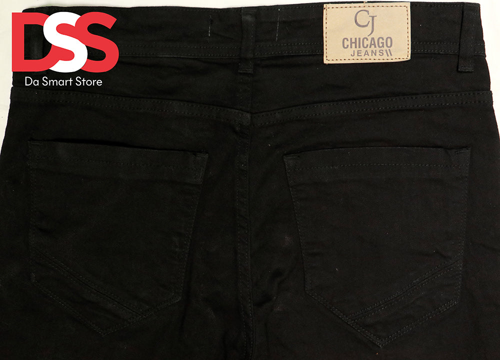 Men's Denim Jeans - Black - Da Smart Store