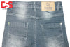 Kid's Denim Jeans - Silver Black - Faded - Da Smart Store