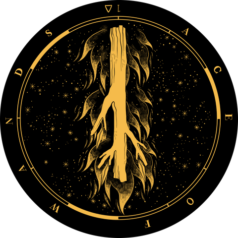 Fig 2. Ace of Wands Reversed