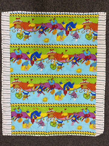 New Kids Handmade Quilt Blanket