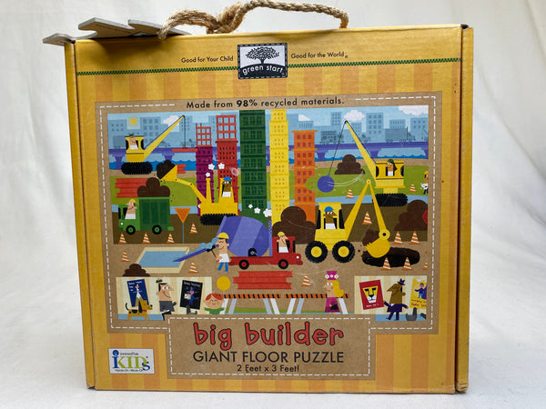 Innovate Kids Green Start Giant Floor Puzzles - Big Builder