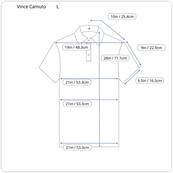 Vince Camuto polo short sleeve