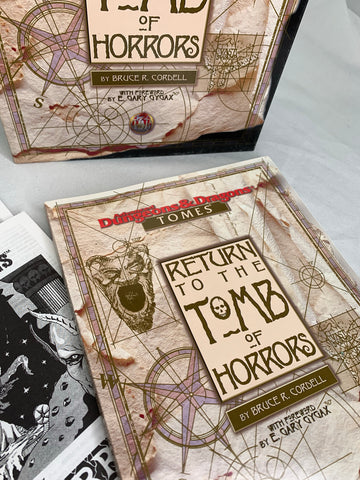 Advanced Dungeons & Dragons - Return To The Tombs Horrors