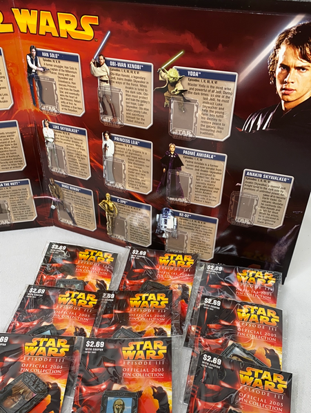 Star Wars Episode III, Official 2005 Pin Collection